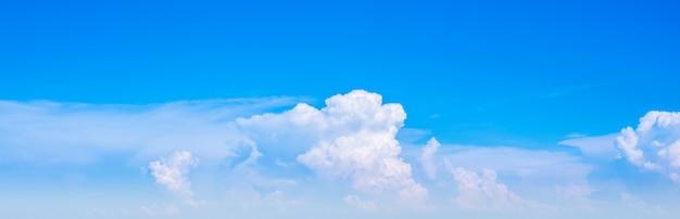 Ciel nuage horizontal