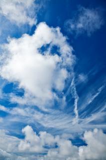 Ciel nuageux nuages cloudscape