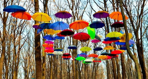 Ciel de parapluie
