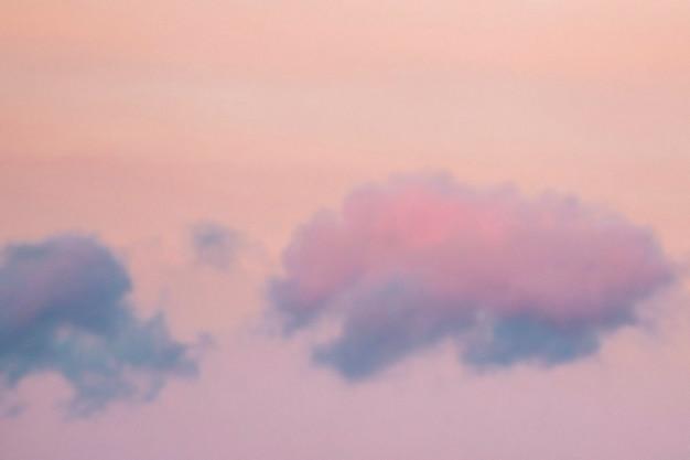 Ciel pastel vibrant