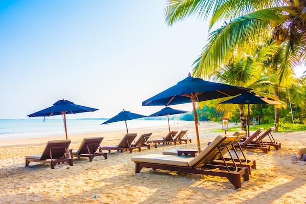 Ciel sable turquoise parasol relax
