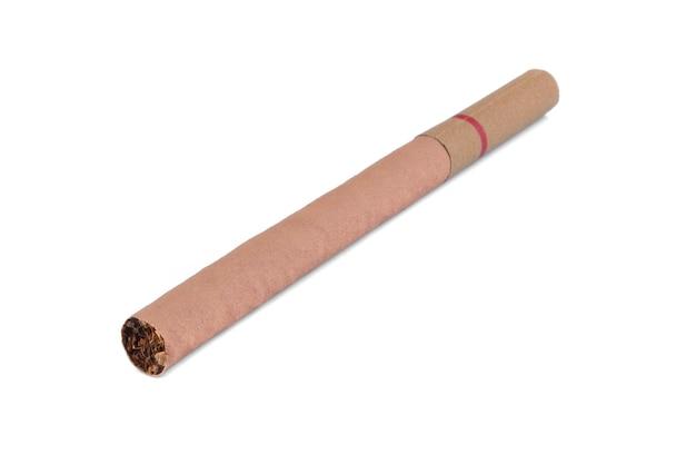 Cigare sur fond blanc