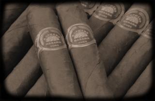 Cigares, bâton