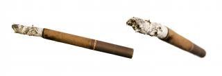 Cigarettes, cendres