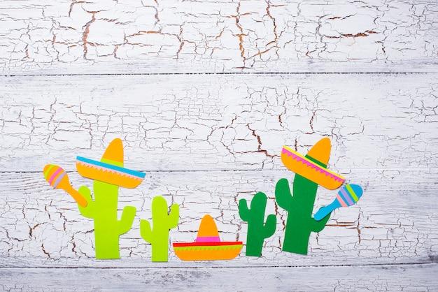 Cinco de mayo, concept de fête mexicaine.