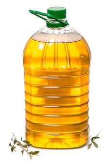 Cinq litres de bouteille d'huile d'olive