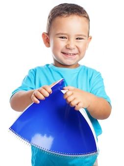 Cintrage d'un enfant portable