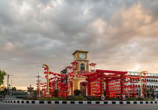 Circle clock tower c'est une conception basée sur l'architecture sino-portugaise