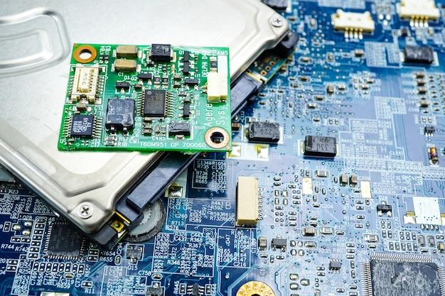 Circuit électronique cpu puce carte mère dispositif de base du processeur processeur électronique.