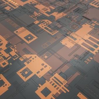 Circuit électronique se bouchent