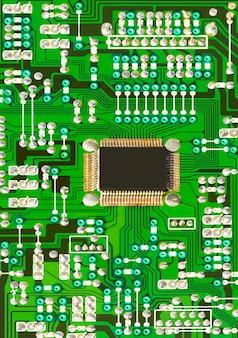 Circuit électronique vert