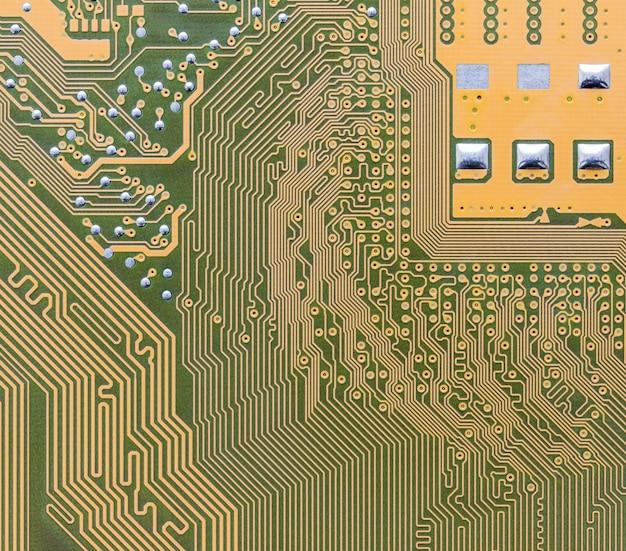 Circuit imprimé intégré sur ordinateur