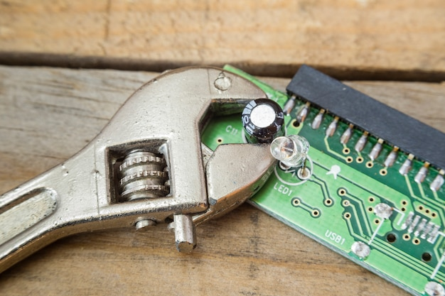 Circuit intégré d'un ordinateur
