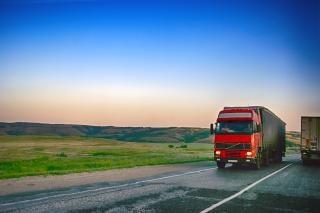 La circulation des camions