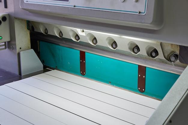 Cisaille guillotine en papier pour machine d'impression