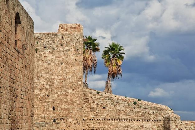 La citadelle au centre de tripoli, au liban