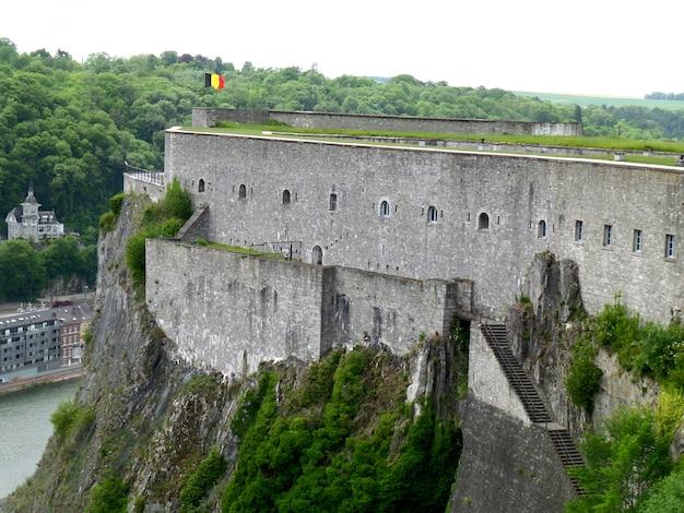 La citadelle de dinant, province de namur, région wallonne, belgique
