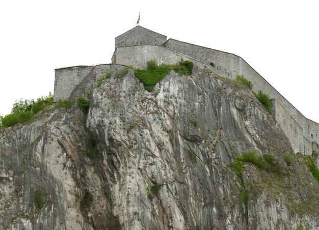 La citadelle historique de dinant, province de namur, région wallonne de belgique