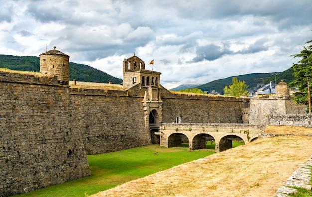 Citadelle de jaca en espagne