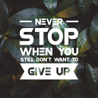 Citation positive pour l'inspiration et la motivation dans la vie. habilitez votre esprit pour une grande réflexion.