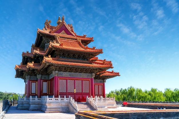 La cité interdite à beijing, en chine