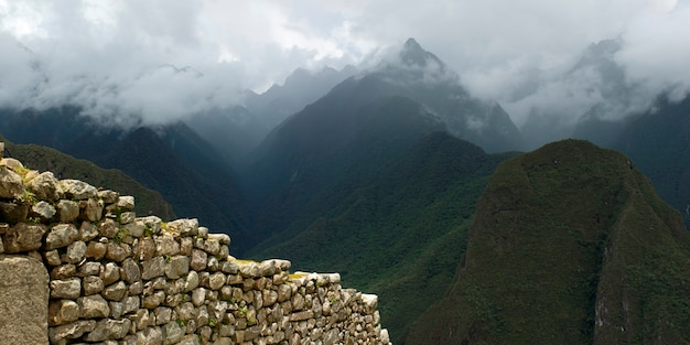 La cité perdue des incas, machu picchu, région de cuzco, pérou