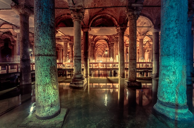 Citerne basilique à istanbul