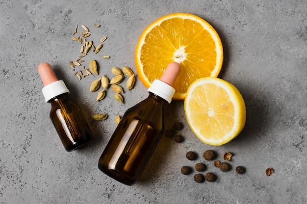 Citron et huiles pour un esprit sain et détendu