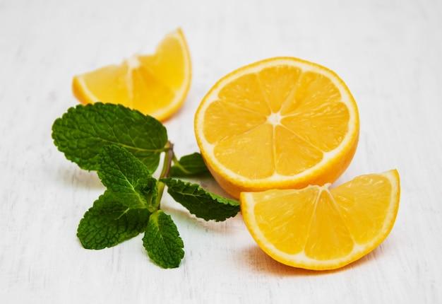 Citron et menthe
