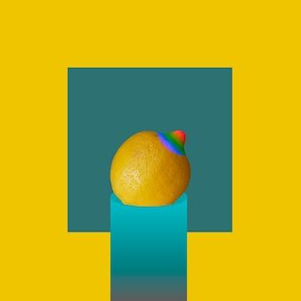 Un citron représentant la confiance et la fierté