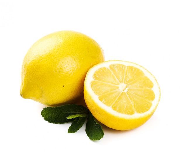 Citron sur la table