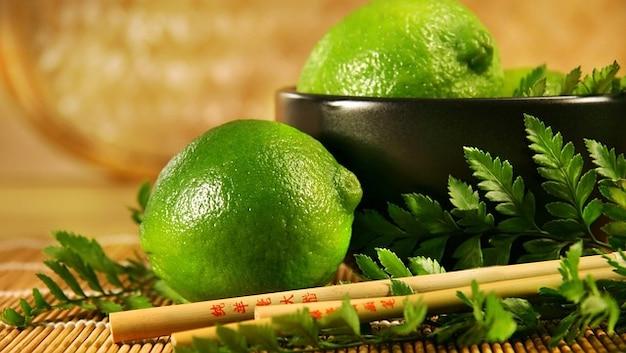 Citrons fruits acides alimentaires