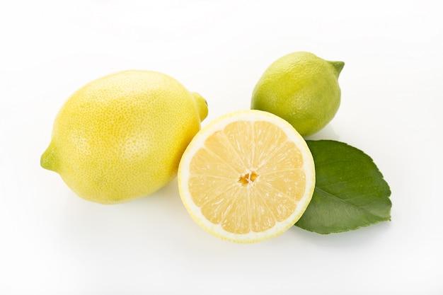 Citrons isolés