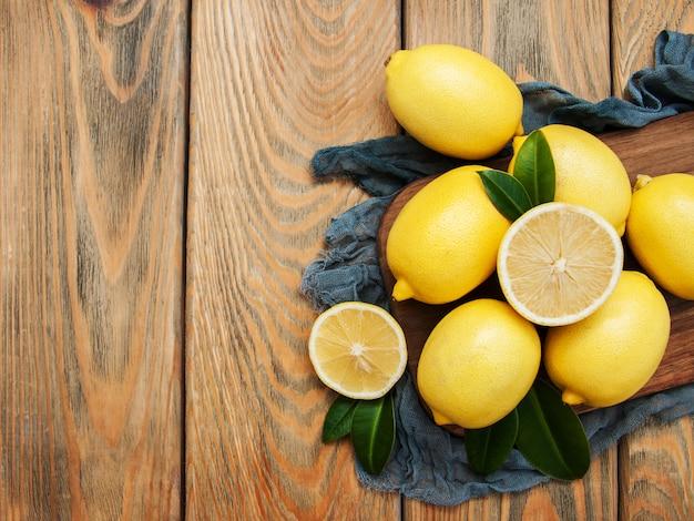 Citrons mûrs