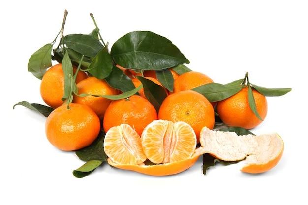 Citrus clementine frais fruit sain