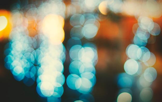 City light nightlife défocalisé flou concept abstrait brillant