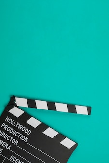 Clapperboard in lay lay