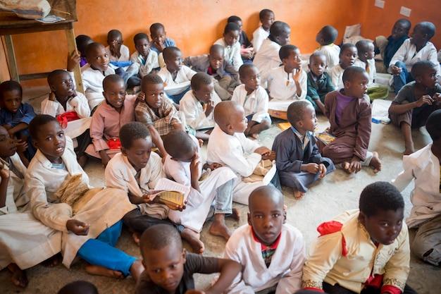 Classe africaine avec des enfants 10/12/2018 zanzibar