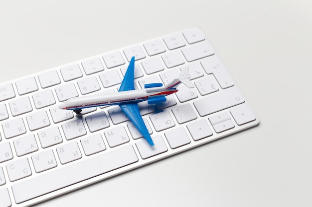 Clavier d'avion et d'ordinateur portable