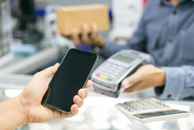 Client payant avec la technologie nfc