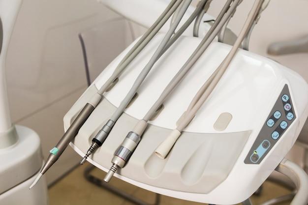 Clinique dentaire et concept de stomatologie.