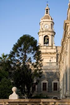 Clocher de la cathédrale de catane