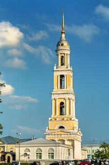 Clocher de l'église jean l'apôtre à kolomna, l'anneau d'or de la russie