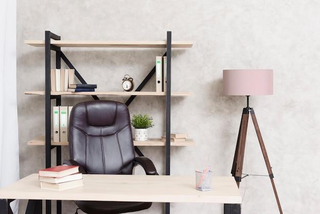 Close-up bureau moderne minimaliste