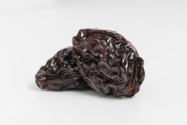 Close-up de deux raisins délicieux