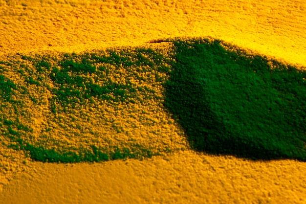 Close-up dunes avec des ombres