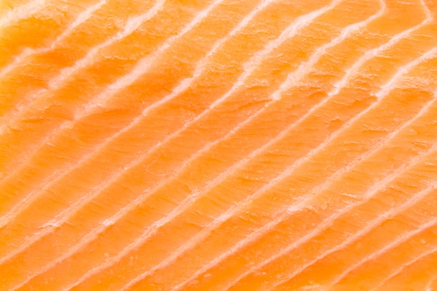 Close-up de filet de saumon