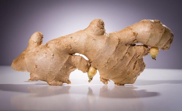 Close-up de gingembre frais