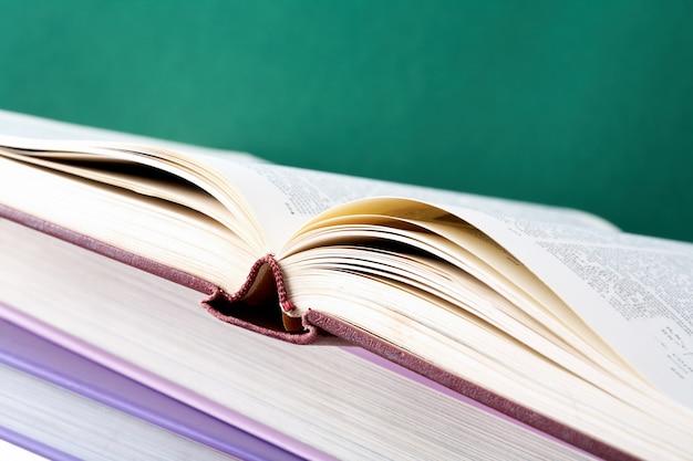 Close-up d'un livre ouvert