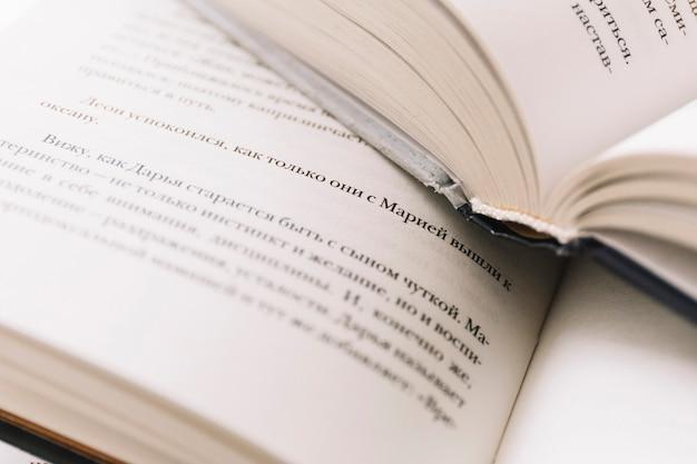 Close-up livres ouverts
